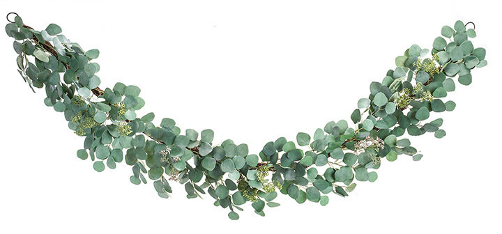 Faux Eucalyptus Garland Set of 2