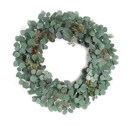 Faux Eucalyptus Wreath
