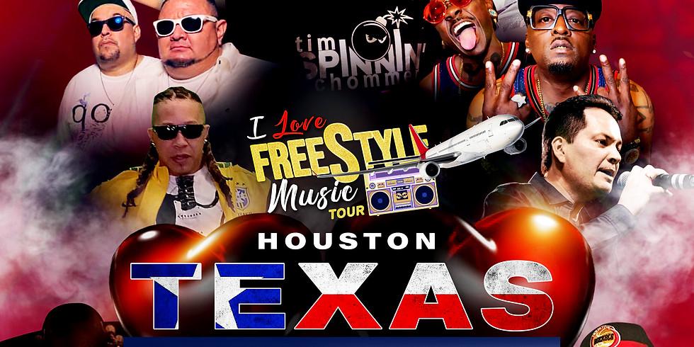 HOUSTON, TX - I LOVE FREESTYLE MUSIC TOUR