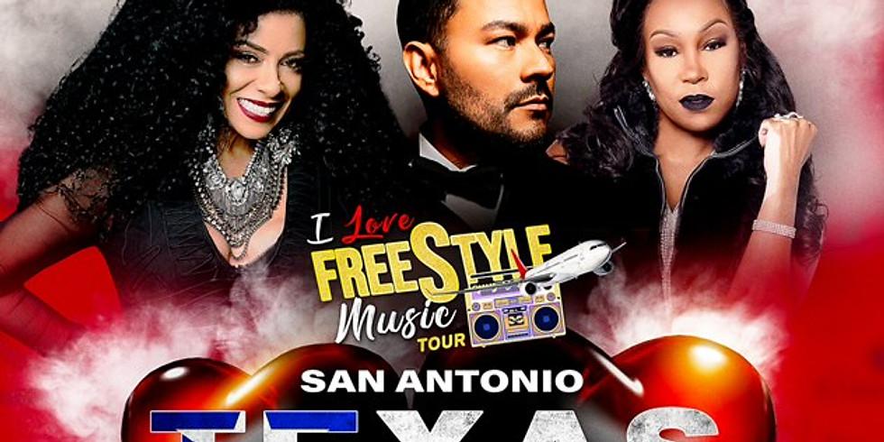 SAN ANTONIO, TX - I LOVE FREESTYLE MUSIC TOUR