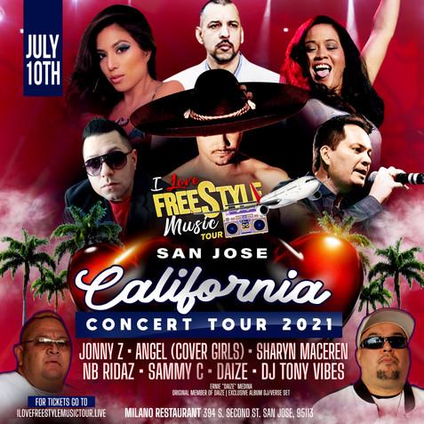 SAN JOSE, CA - I LOVE FREESTYLE TOUR