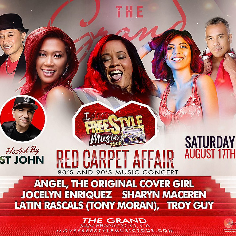 "The I Love Freestyle Music Tour - ""A Red Carpet Affair"""