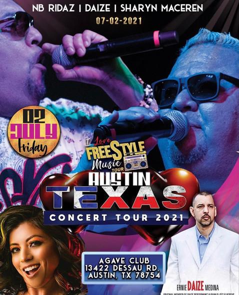 Austin, TX - I LOVE FREESTYLE MUSIC TOUR