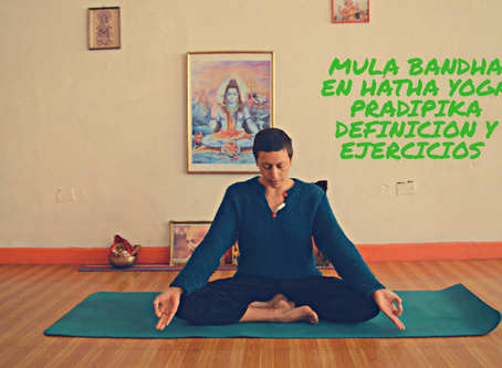 Mula bandha en el Hatha yoga pradipika
