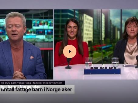 TV2 - Antall fattige barn i Norge øker