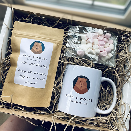 Bear & Mouse Hot Chocolate Kit