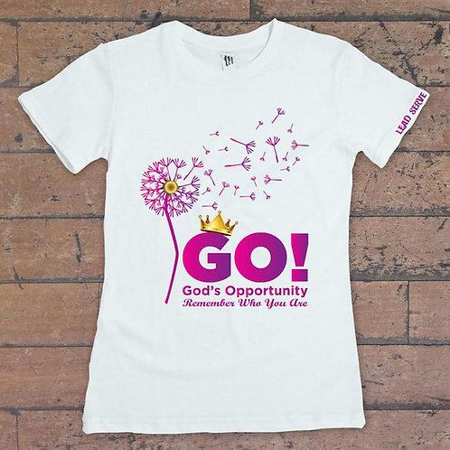 Lead Serve GO T-shirt