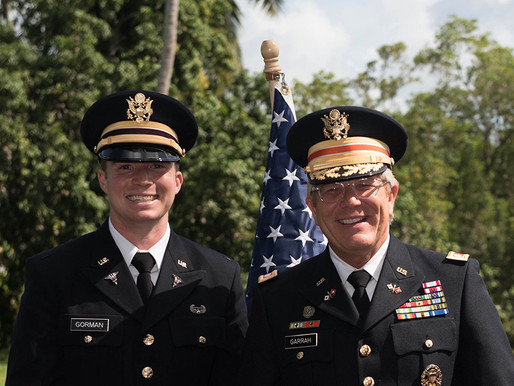 Former Naples Cadet Gets Commissioned As Army Officer