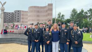 Cadets Support Area 9-11 Ceremonies