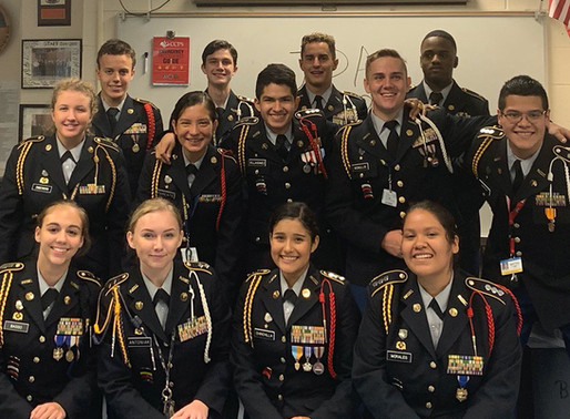Congratulations to Our Senior Cadets on Graduation