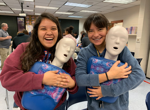 Cadets Get CPR Certified in Class