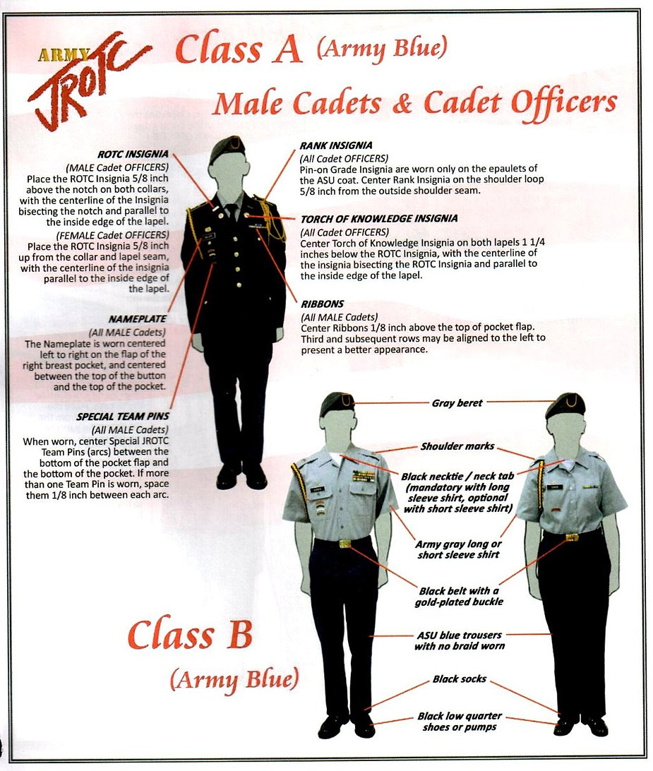 Army Rotc Class B Uniform 12