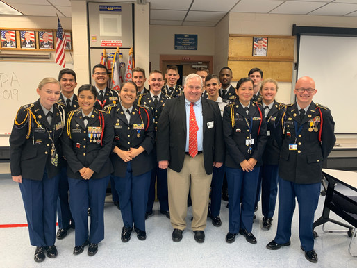 Naples JROTC Earns 99.75% on JROTC Program of Accreditation (JPA)