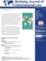 Berkely journal of international law bji