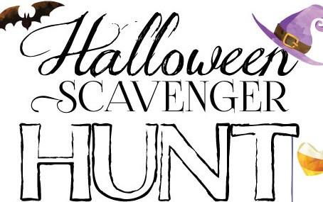 Halloween Scavenger Hut-Freebie!