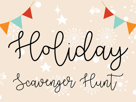 Free Holiday Scavenger Hunt