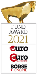 Platz 1 des €uro FundAwards 2021