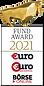 Platz 1 des €uro FundAwards 2021