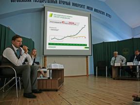 Совещание «Стратегические цели и задачи развития экспорта АПК Воронежской области»