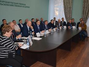 Совещание в режиме ВКС АЦ Минсельхоза России с представителями Самарской области