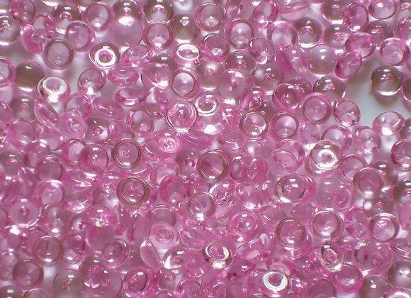 Acryl - Raindrops ca. 5mm, pink 1kg