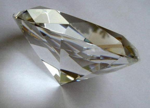 Kristallglasdiamant klar, D40mm 50 Stück