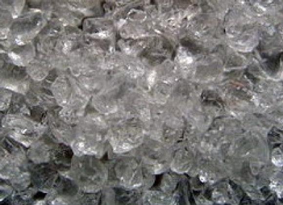 Glasgranulat klar, ca. 4-10mm/20 kg
