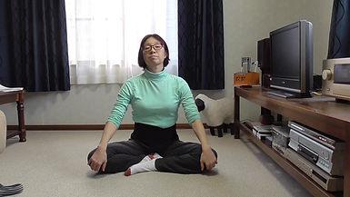 Sitting Stretching 1