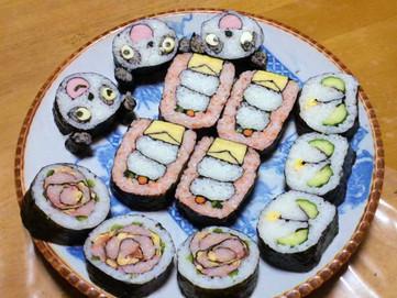 デコ巻き寿司マイスター 「こころのネジ巻子」誕生!