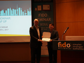 News Article Regarding FIDO Korea WG and Global PD