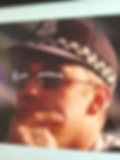 Tony Angus in his Victoria Polic days