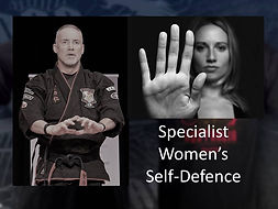 Tony Angus is a specialist in women's self defence