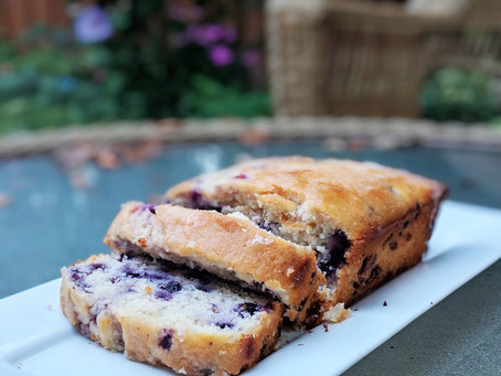 Dairy-Free Lemon Blueberry Bread