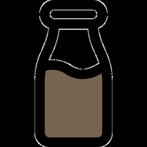 Dark Chocolate and Vancouver Sea Salt Oat & Hemp Mylk  - Large (700 ml) - frozen