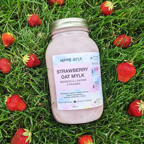 Strawberry Oat Mylk - Large (700 ml) - frozen