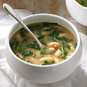 Tuscan White Bean and Spinach Soup