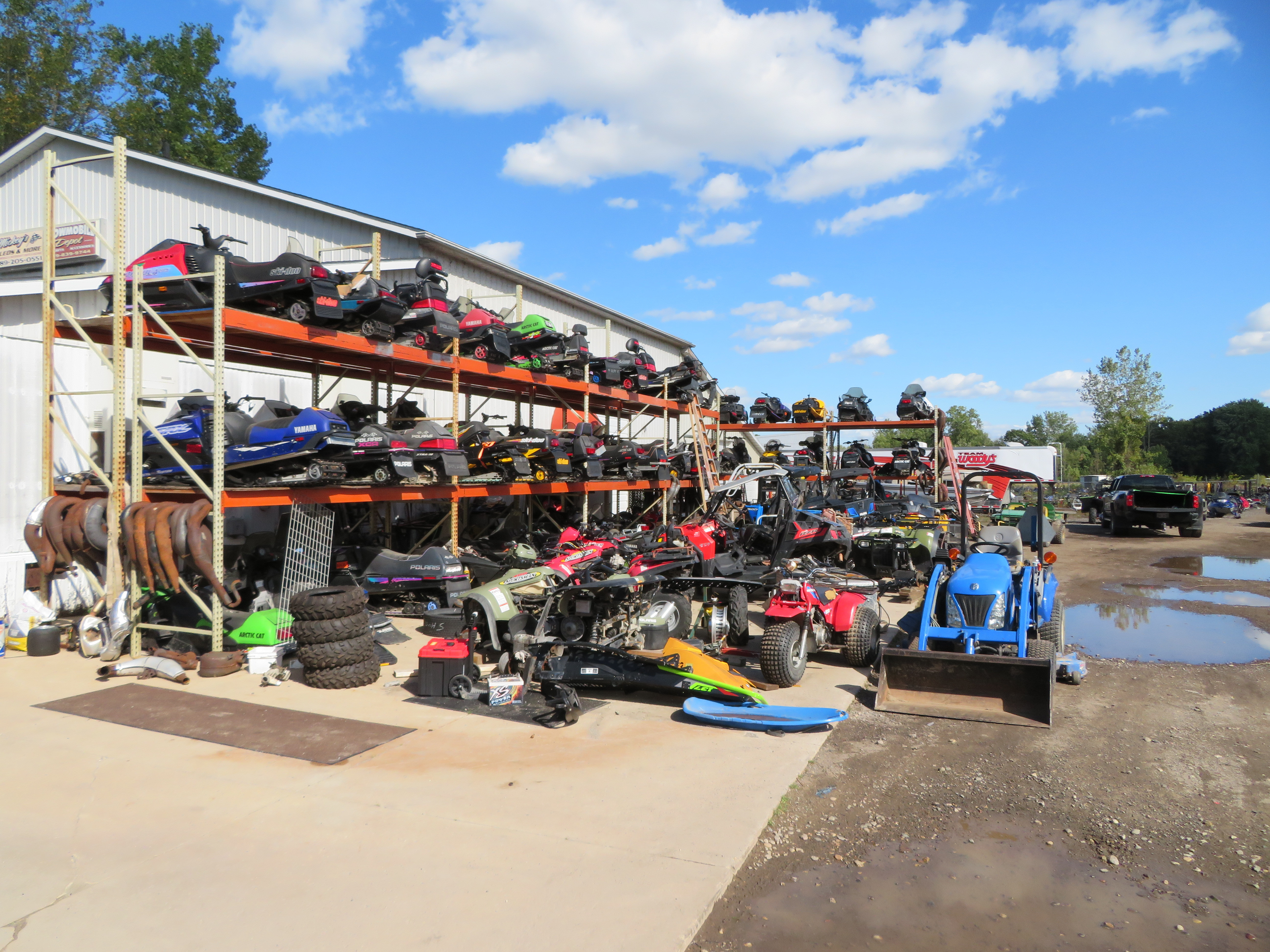 Home Mickeys Sleds Inc Salvage Yard Midland