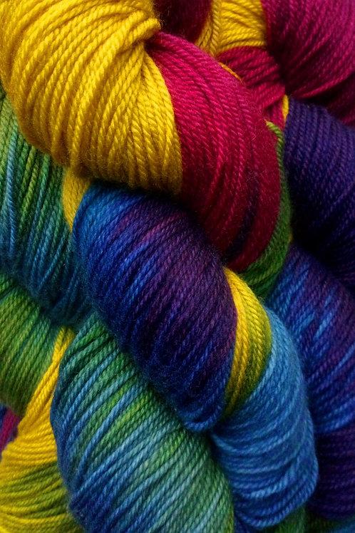 RAINBOW  -  sock Merino/Cashmere/Nylon