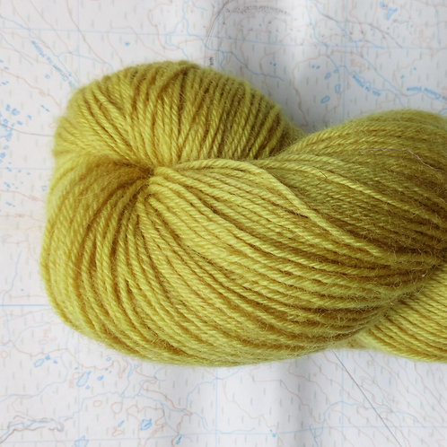 MEADOWSWEET -  4ply fingering Blue Faced Leicester