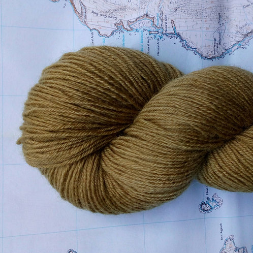 BRONZE -  4ply fingering Blue Faced Leicester