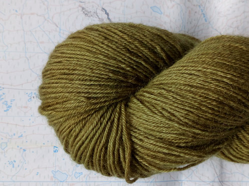 DEEP FOREST -  4ply fingering Blue Faced Leicester