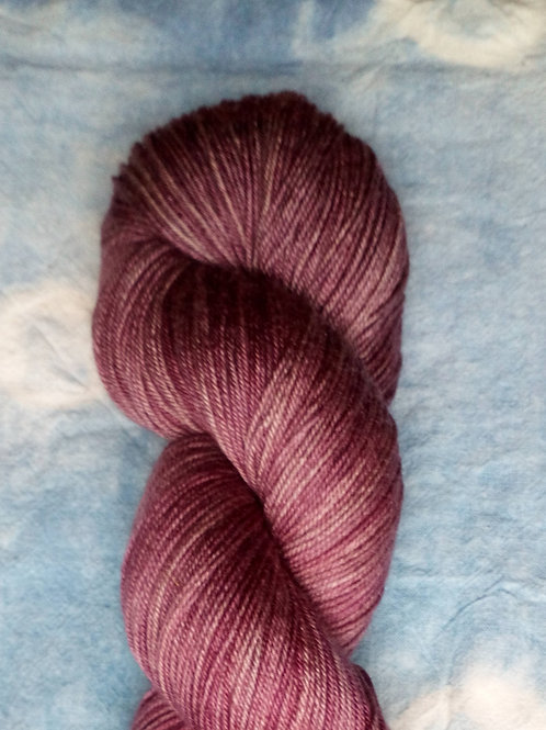 PINK 1 -  4ply fingering Merino and Silk