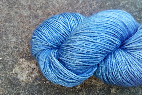 EVENING SKY  - 4ply fingering Blue Faced Leicester