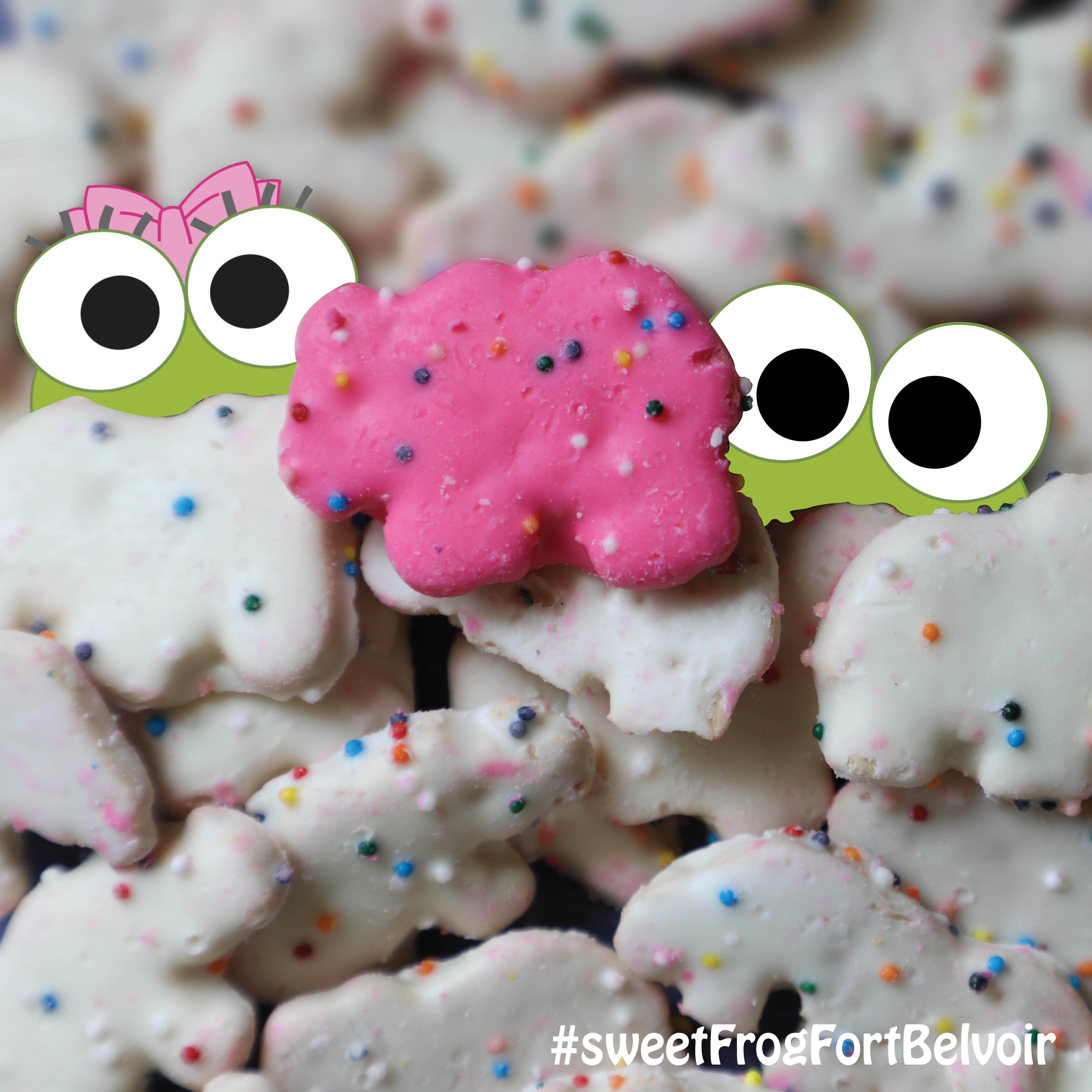 Sweet Frog Animal Crackers Day