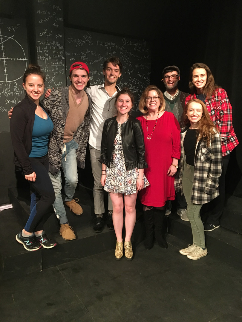 Proof - CenterStage Theatre Company CUA