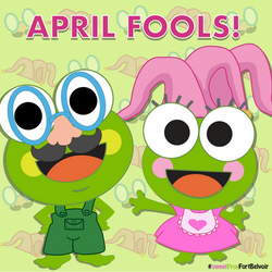 SweetFrog April Fools Day