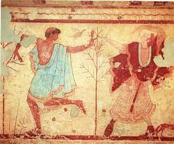tumba del triclinium