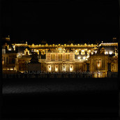 The Marble Court at Night