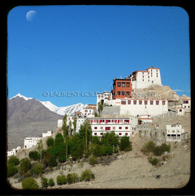 Thiksey Gompa by Moonlight