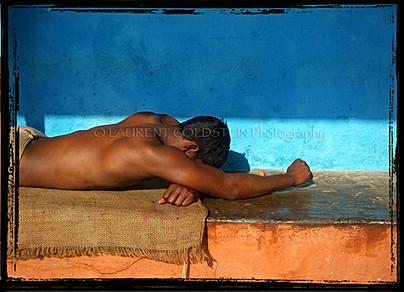Resting In Shiva's Arms